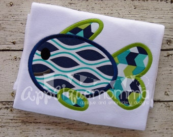 Fish 16 Applique Design