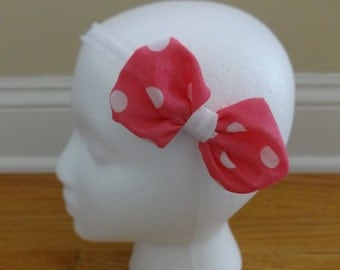 Bow Headband in a Variety of Fun Prints