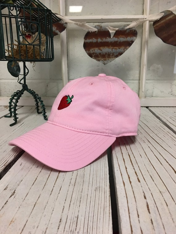 baseball hats for babies canada caps sale in kenya wholesale london strawberry dad hat hipster trending fashion embroidery fruit cap low profile curved bill pi