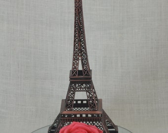 "15"" Eiffel Tower Replica, Metal Eiffel Tower Centerpiece, Paris Wedding, Eiffel Tower Centerpiece, Eiffel Tower Topper, Paris Wedding Decor"