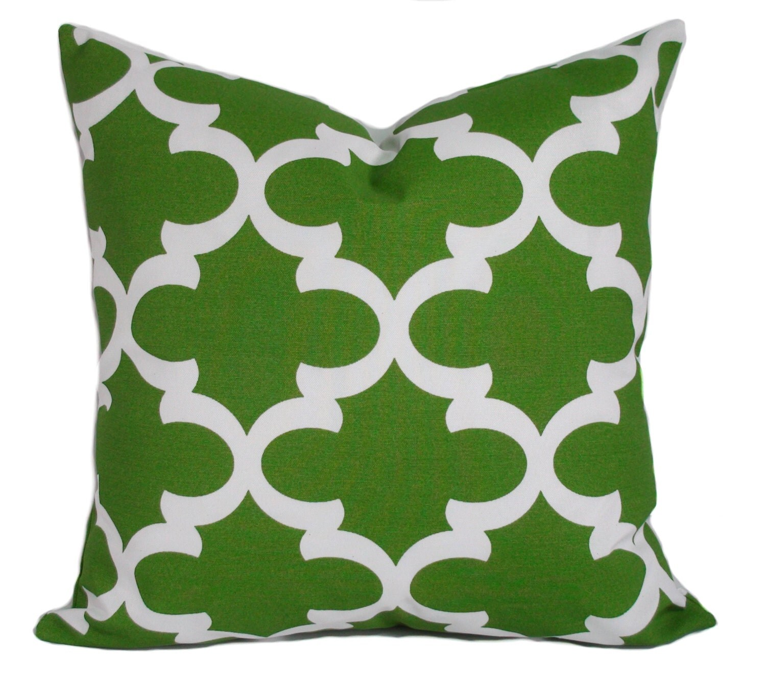 Outdoor pillow cover 16x16 Green outdoor pillow Outdoor