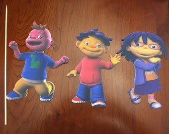 Sid the Science kid Cut Outs or Cake Toppers