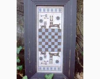 Hare Game Board by The Primitive Needle