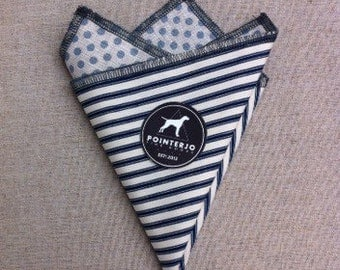 Double sided pocket square