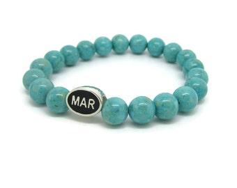 Marshfield, MAR, Marshfield Gifts, Marshfield Jewelry, Marshfield Bracelet, Turquoise Riverstone