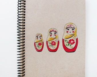 Russia Series Spiral Notebook 2