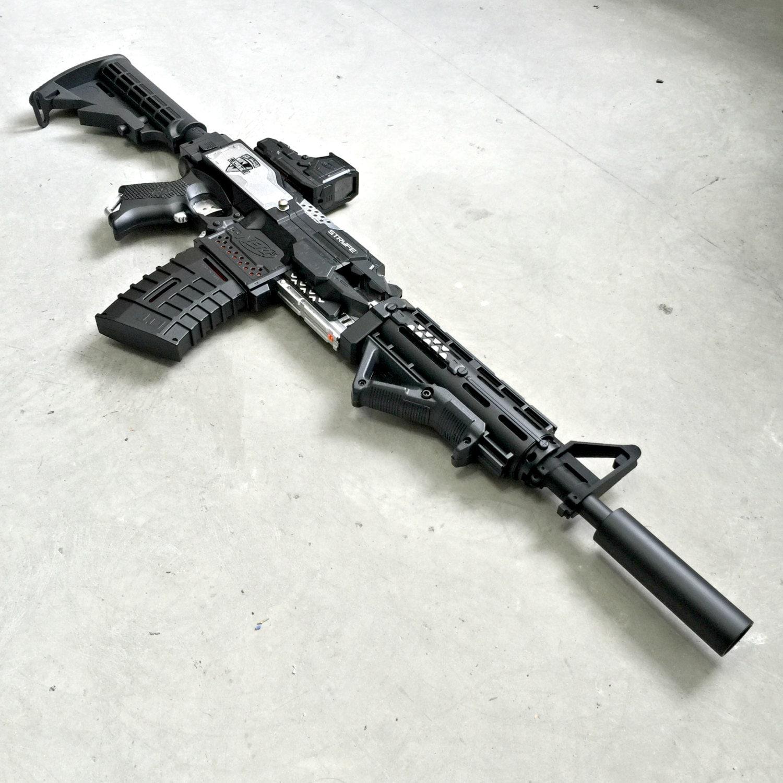 Nerf Stryfe Assault Rifle Version 2.0 By JLCustomsCreations