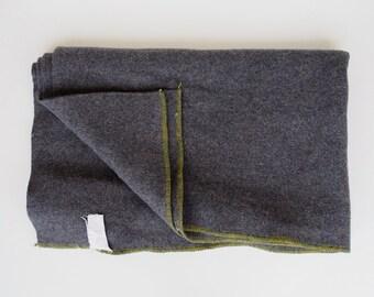 vintage Russian wool army blanket