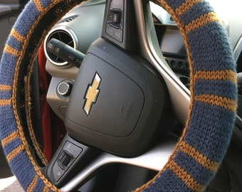 Hogwarts Steering Wheel Cover