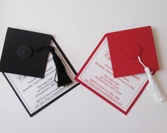 Graduation Invitations, High School Graduation Party Invitation, College Graduation Invites, Grad Announcement, Class of 2018, Grad Party