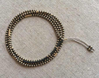 Beaded Bracelet, Wrap Bracelet, Friendship Bracelet, Beaded Necklace, Gift for her, Best friend gift