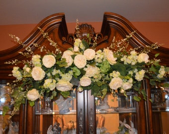 Wedding Arch, Archway Swag, Wedding Ceremony Swag, Arbor Arch, Church Ceremony Swag, Large Arch Swag, XL Archway Swag