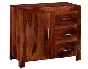 Bonsoni Chennai Small Sideboard Made From 100% Solid Hardwood