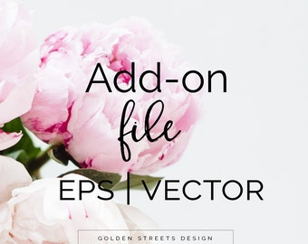 Add -On EPS / Vector File.