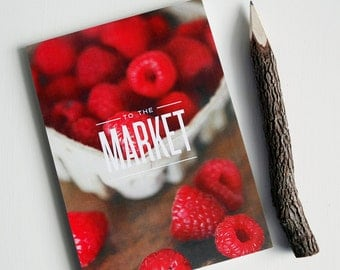 Market Grocery List Notepad