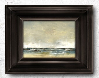 Oil Painting 5x7 in - ORIGINAL - Landscape - Painting by Bruno Monteiro Carlos