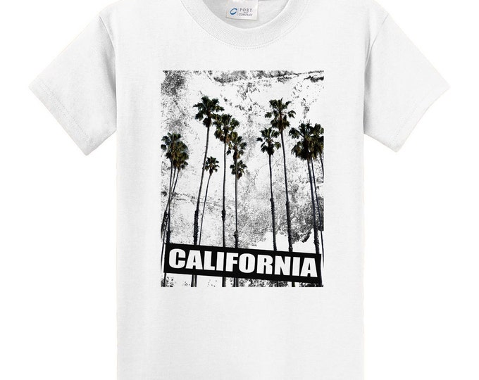 California Palm Trees Travel T-Shirt