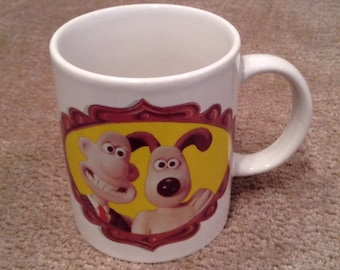 Wallace and Gromit Mug 1989 - Picture Frame Portrait Art