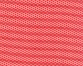 Little Ruby - Little Bliss Dot Red - Bonnie and Camille - Moda - by the half yard - 100% Cotton