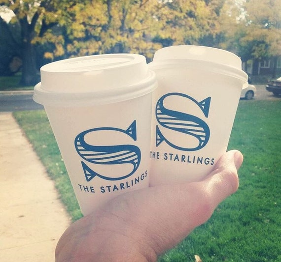 Personalized paper cups, custom coffee cups, hot chocolate cups, Wedding to go cups, reception favors, reception cups, personalized cups