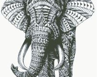 Cross Stitch Pattern ''Elephant 1.2'' PDF