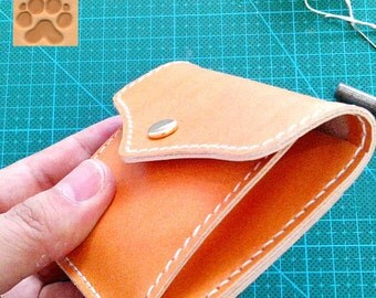 Minimalist Leather Wallet, Leather ID wallet, Leather card holder