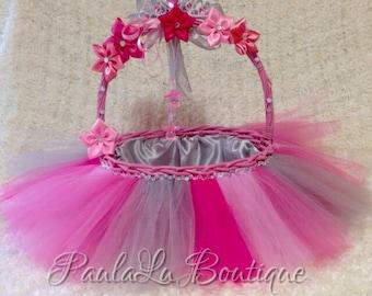 Princess babyshower basket