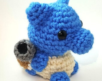 Crochet Pokémon: Blastoise***Made to Order***