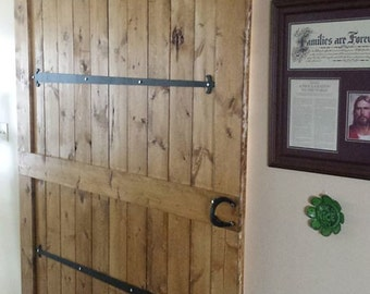 Rustic Western Barn Door