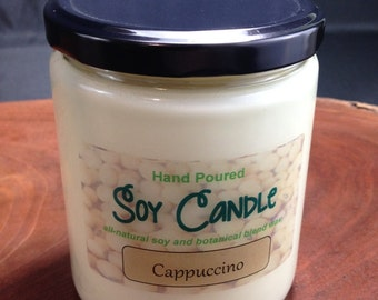 Soy Candle, Soy Wax Candle, Handmade Candle in a 16oz Jar