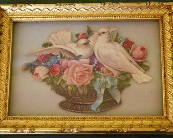 Vintage Victorian Collage Picture