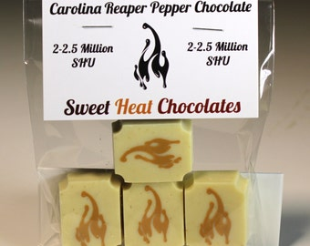 Carolina Reaper White Chocolate 4pc
