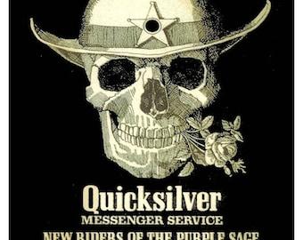 Grateful Dead Concert Poster 1969 Honolulu Hawaii - FREE Shipping