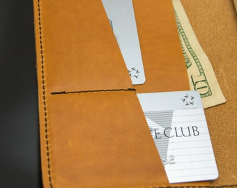 Field Notes Wallet - Tan Horween® Essex Leather