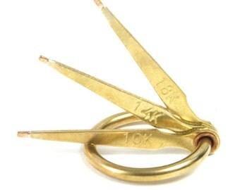 Gold Testing Needle Set of 3 - 10K, 14K, 18K - 56-708