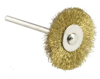 """Brass Brush - Wheel Mounted 3/4"""" - 16-810"""
