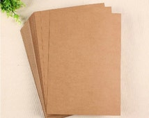 "Kraft Paper - 70 lb. Text - 8.5"" x 11"" - 100 Sheets - Copier Paper - Blank - Acid and Lignin Free"