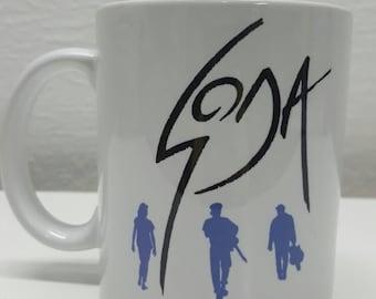 Soda Stereo ceramic mug