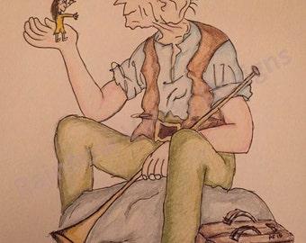 Bespoke drawing - BFG