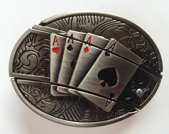 Ace's Belt Buckle with Knife included