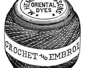 Crochet /embroidery - Temporary tattoo
