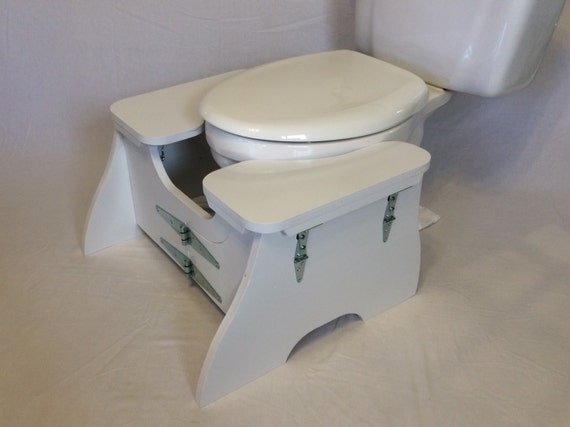High Folding Poop Stoop Classic Collapsible Toilet Squat Stool