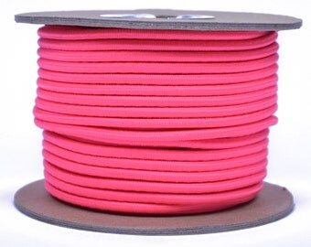 "Think Pink 1/8"" Shock Cord"