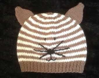 Little Kitty baby hat