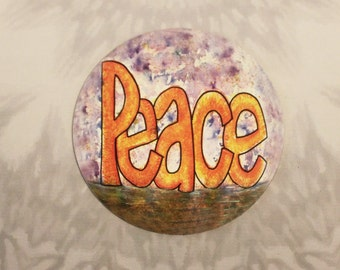 Peace Outdoor Magnet