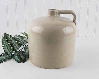 Macomb Stoneware Co Illinois Vintage 1 gallon Moonshine Jug