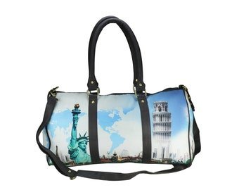 NYC Digital Printed Duffle Bag