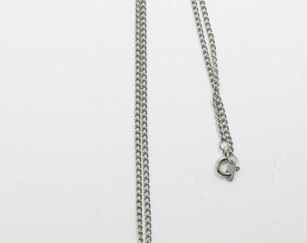 Vintage - Collectible - Rhinestone Heart Pendant -  Jewelry - Silver - Rhinestones - Heart - Pendant - Necklace - Sparkling - Women's - Gift