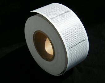 50 meters of blank strip roll especially for 30 note music box using paper strips