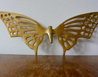Brass Butterfly Wall Decor